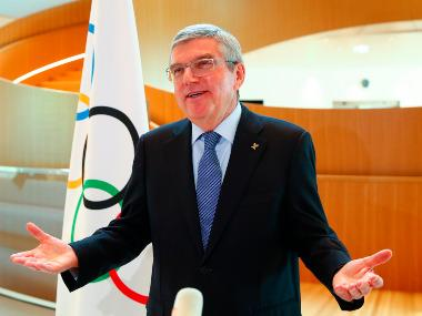 Tokyo Olympics 2020: IOC chief Thomas Bach cites US President Donald Trump while defending delay in postponing Games