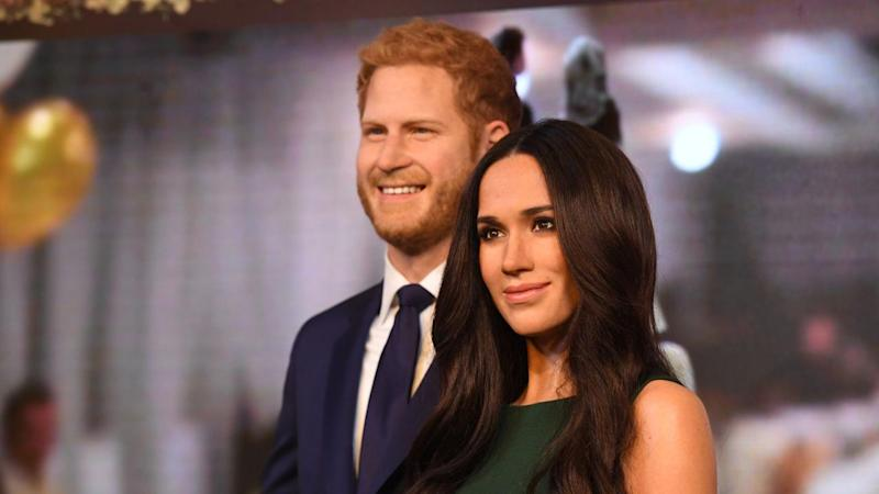 Meghan Markle waxwork unveiled at Madame Tussauds (close up pic inside)