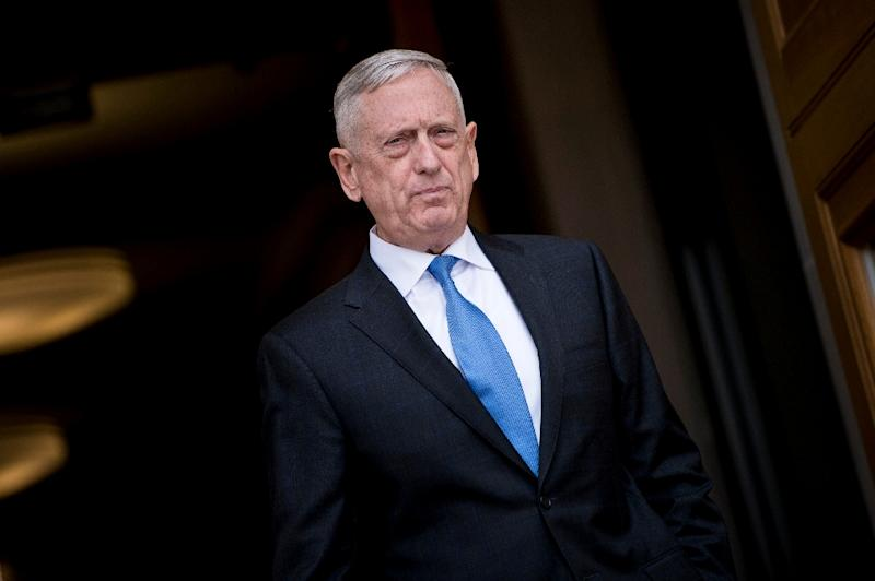 US Defense Secretary Jim Mattis made little attempt to hide his disagreements with President Donald Trump (AFP Photo/Brendan Smialowski)