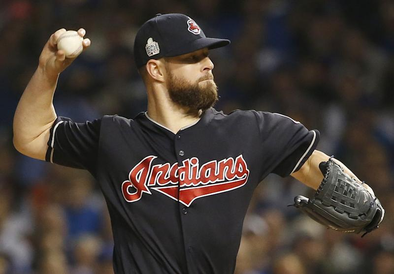 Indians ace Corey Kluber has a great across-the-board case for the AL Cy Young. (AP)