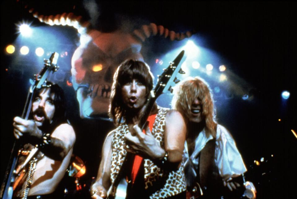 Spinal Tap in its early '80s heyday (Photo: Embassy Pictures/Courtesy Everett Collection)