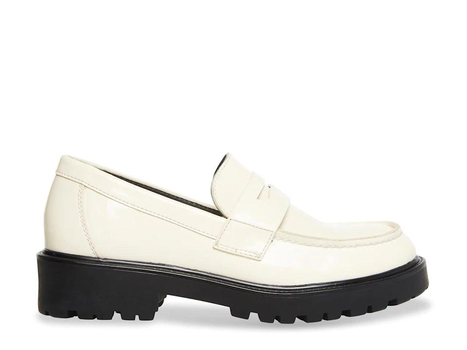 <p>For a crisp and polished pair, opt for the <span>Steve Madden Lotto Loafer</span> ($80). This modern style will add instant polish to every ensemble.</p>