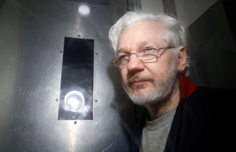 UK extradition hearing for WikiLeaks' Assange postponed over COVID-19 concerns