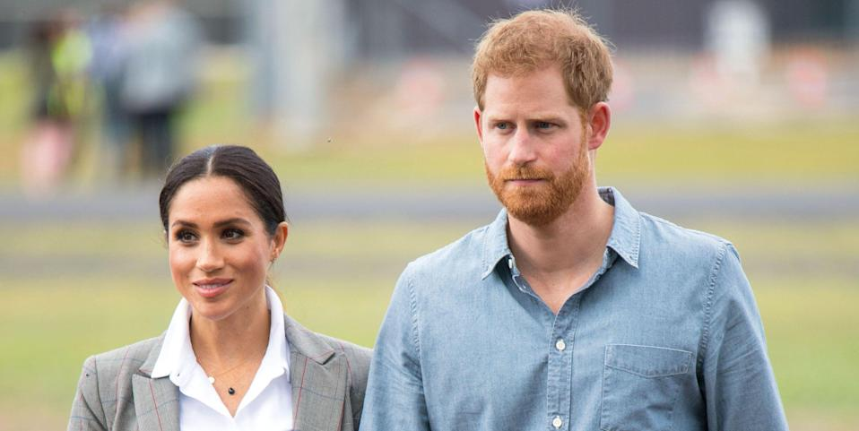 "Prince Harry and Meghan Markle Reportedly Insisted That Netflix End ""The Crown"" Before It Gets to Their Drama"