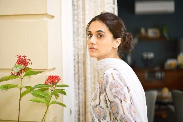 Taapsee Pannu in a still from Thappad