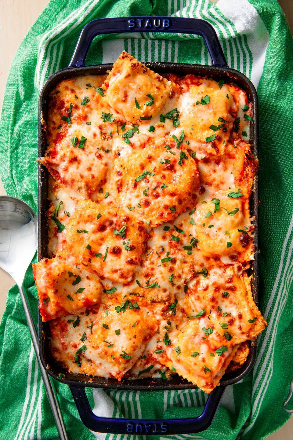 "<p>Italian night is better when your two favorite pastas combine.</p><p>Get the recipe from <a href=""https://www.delish.com/cooking/recipe-ideas/recipes/a52150/ravioli-lasagna-recipe/"" rel=""nofollow noopener"" target=""_blank"" data-ylk=""slk:Delish"" class=""link rapid-noclick-resp"">Delish</a>.</p>"