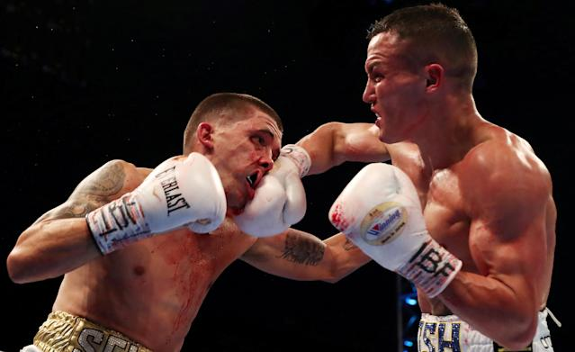 Boxing - Lee Selby vs Josh Warrington - IBF World Featherweight Title - Elland Road, Leeds, Britain - May 19, 2018 Lee Selby in action against Josh Warrington Action Images via Reuters/Peter Cziborra TPX IMAGES OF THE DAY