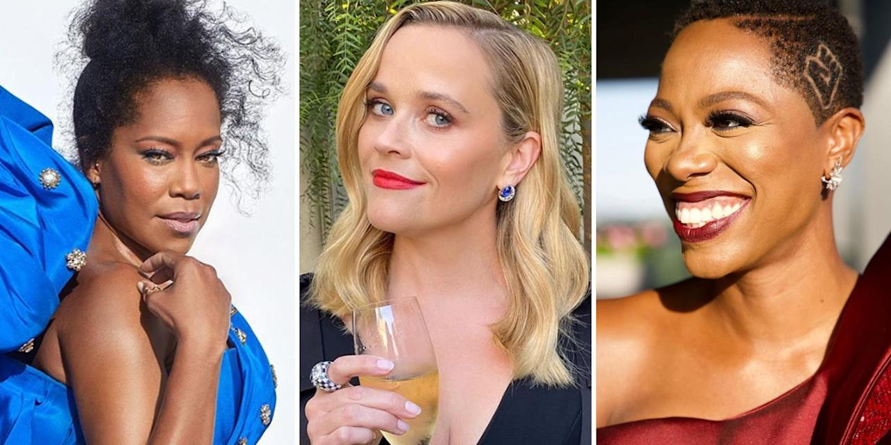 <p>The biggest night in TV went virtual this year, but that doesn't mean celebs abandoned beauty altogether. Here, the prettiest hair and makeup looks from the 2020 Emmy awards. </p>