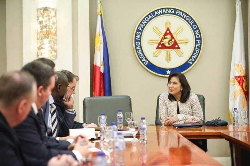 Robredo, US eye stronger cooperation in drug war