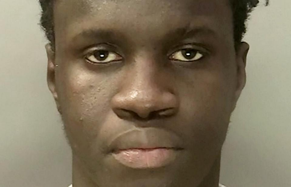 Khadim Drame was jailed after pleading guilty to raping a woman in a park in Birmingham. (SWNS)