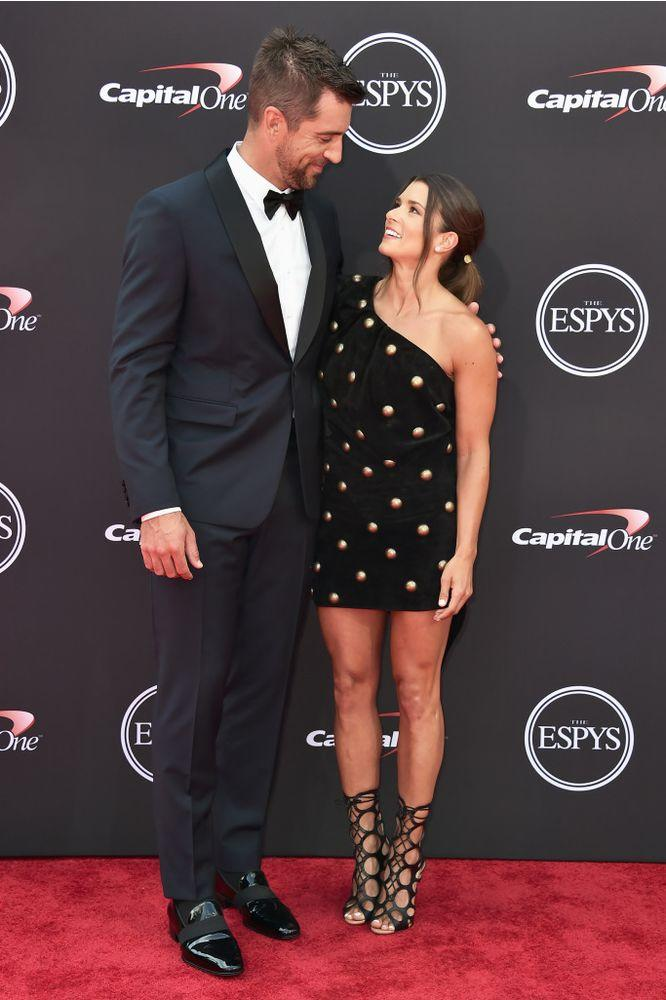 Aaron Rodgers Says He's 'Really Attracted' to Girlfriend Danica Patrick: We 'Love Each Other'