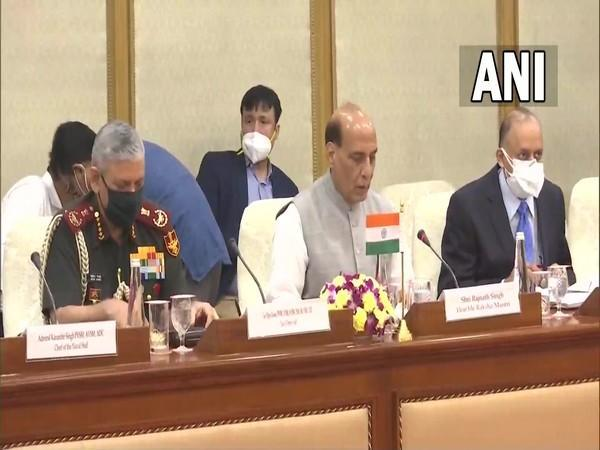 Defence Minister Rajnath Singh and his Australian counterpart Peter Dutton hold delegation-level talks in Delhi.