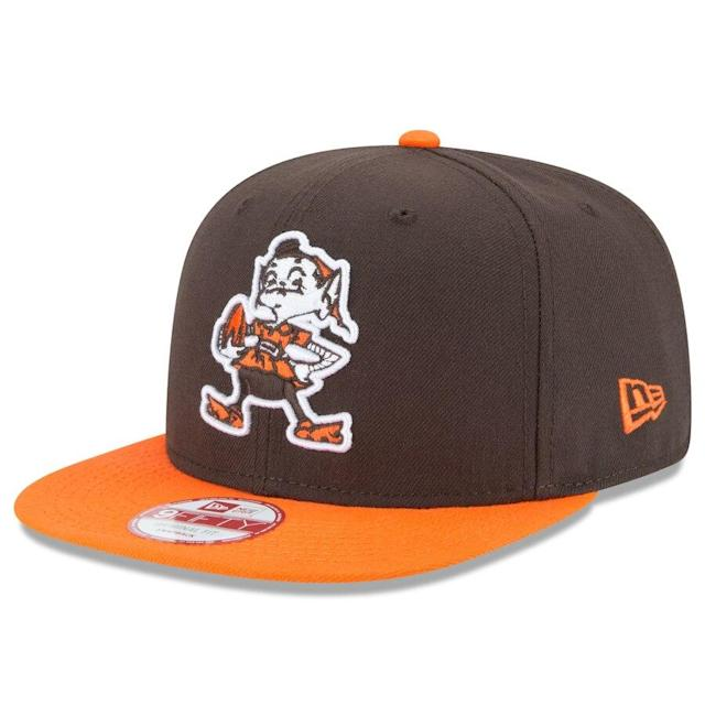 Browns Historic Logo Baycik 9FIFTY Adjustable Hat