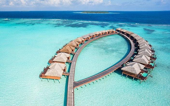 maldives resort - Getty