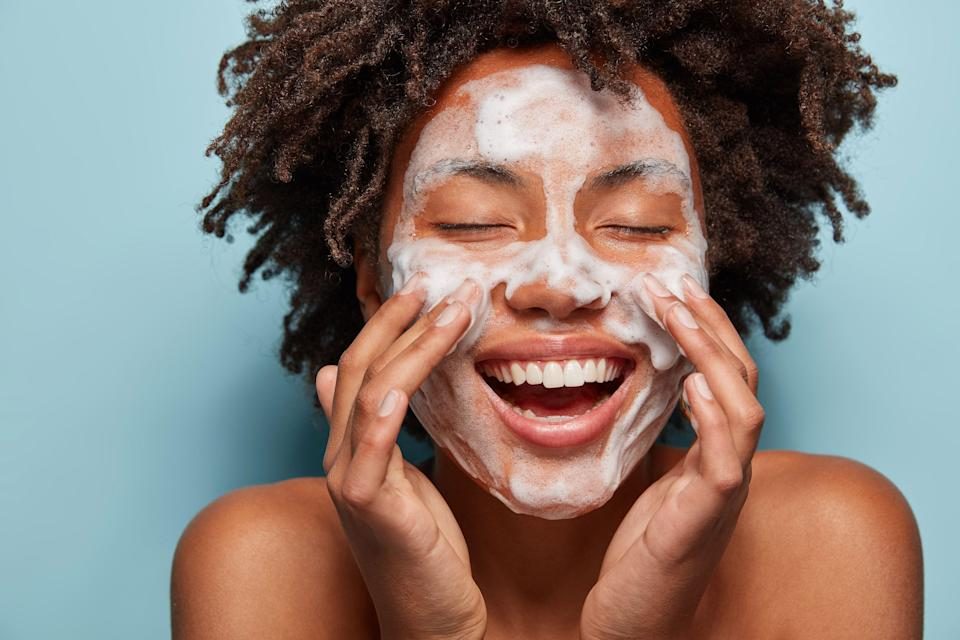 """<p class=""""body-text"""">When it comes to treating acne-prone skin, you can and should try the most sophisticated pimple-banishing formulas out there, from <a href=""""https://www.marieclaire.com/beauty/g35927175/face-masks-for-acne/"""" rel=""""nofollow noopener"""" target=""""_blank"""" data-ylk=""""slk:face masks"""" class=""""link rapid-noclick-resp"""">face masks</a> to <a href=""""https://www.marieclaire.com/beauty/g35888853/acne-spot-treatment/"""" rel=""""nofollow noopener"""" target=""""_blank"""" data-ylk=""""slk:spot treatments"""" class=""""link rapid-noclick-resp"""">spot treatments</a>. But one essential and often overlooked part of stopping the acne cycle? A good face wash.</p><h4 class=""""body-h4"""">How do face washes control acne?</h4><p>If you think about it, it's obvious: A cleanser removes dirt, debris, and excess oil to improve the overall condition of skin and stop it becoming a breeding ground for acne. Good acne-fighting face washes go a step further, warding off bacteria and excess oil production while gently exfoliating and renewing your skin. And they do all of this without over-drying it or causing<em> more </em>irritation (because that's the last thing your skin needs, right?)</p><p>So, where to start? Whatever kind of skin you're in, there's an acne-fighting face wash on this list that's just right for your needs.</p>"""