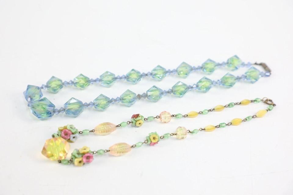 <p>Uranium glass became widely used in the 1930s, with many people loving it for its gorgeous hues. Anyone with this at home will be pleased to know that it's now a collector's item. </p>