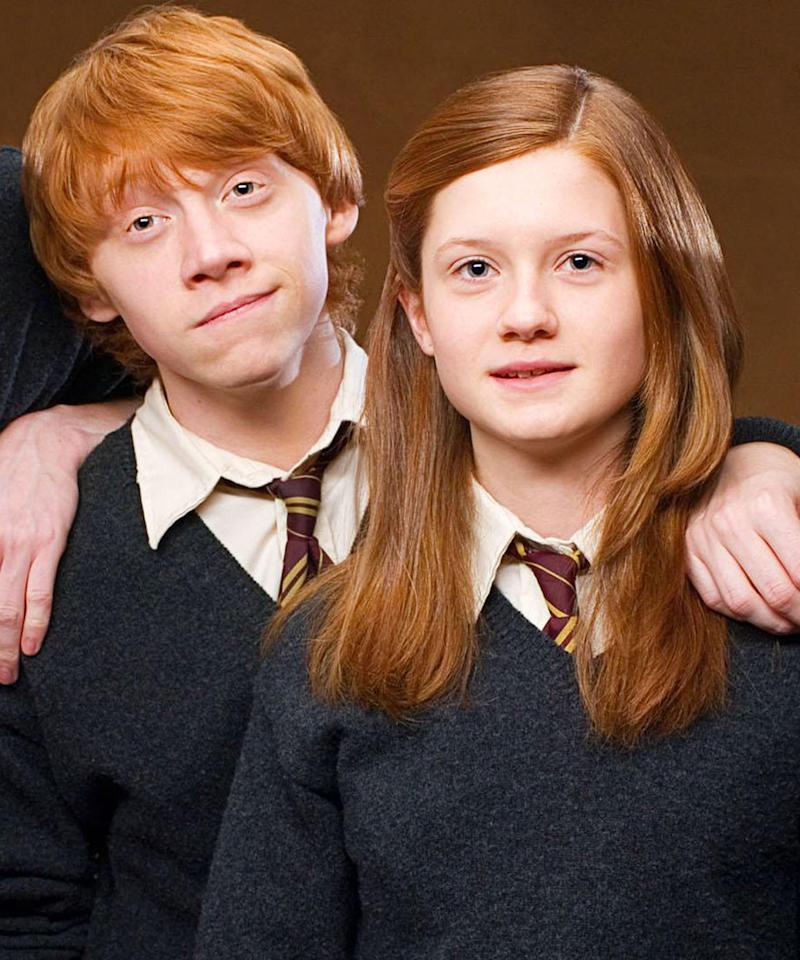 Are harry and ginny dating in real life 1