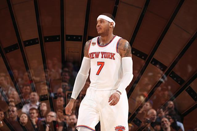 New York Knicks: Top five points averages of the past five years