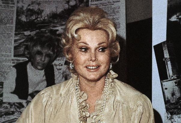 FILE - In this 1978 file photo, Hungarian-born American actress Zsa Zsa Gabor is shown. Attorneys for Zsa Zsa Gabor's daughter and husband are due in a Los Angeles court Wednesday to argue whether the ailing actress needs a conservatorship. Constance Francesca Hilton is asking a judge to oversee her mother's care and has raised concerns about her finances and medical treatment. Gabor's husband of 25 years, Frederic von Anhalt, is asking a judge to reject Hilton's petition and says he has provided his wife the best possible care.  (AP Photo/file)
