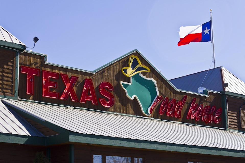 Indianapolis - March 2016: Texas Roadhouse Restaurant Location I
