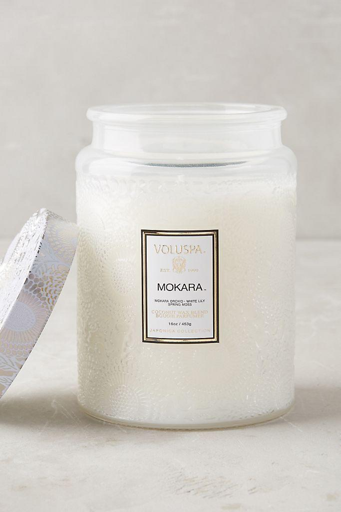 """<p><strong>Voluspa Anthropologie</strong></p><p>anthropologie.com</p><p><strong>$22.40</strong></p><p><a href=""""https://go.redirectingat.com?id=74968X1596630&url=https%3A%2F%2Fwww.anthropologie.com%2Fshop%2Fvoluspa-limited-edition-cut-glass-jar-candle&sref=https%3A%2F%2Fwww.marieclaire.com%2Fhome%2Fg32185568%2Fbest-desk-accessories-decor%2F"""" rel=""""nofollow noopener"""" target=""""_blank"""" data-ylk=""""slk:SHOP IT"""" class=""""link rapid-noclick-resp"""">SHOP IT</a></p><p>Candles may not fix our problems, but it definitely helps take the edge off when your home smells like a delicious mix of orchid, white lily, and spring moss. </p><p>•••</p><p><em>For more stories like this, including celebrity news, beauty and fashion advice, savvy political commentary, and fascinating features, sign up for the </em>Marie Claire <em>newsletter</em>.</p><p><a class=""""link rapid-noclick-resp"""" href=""""https://preferences.hearstmags.com/brands/MAR/subscribe.aspx?authId=F0CC0C27-80DA-4734-ABDF-E4115B84A56B&maj=WNL&min=ARTICLES"""" rel=""""nofollow noopener"""" target=""""_blank"""" data-ylk=""""slk:subscribe here"""">subscribe here</a></p>"""