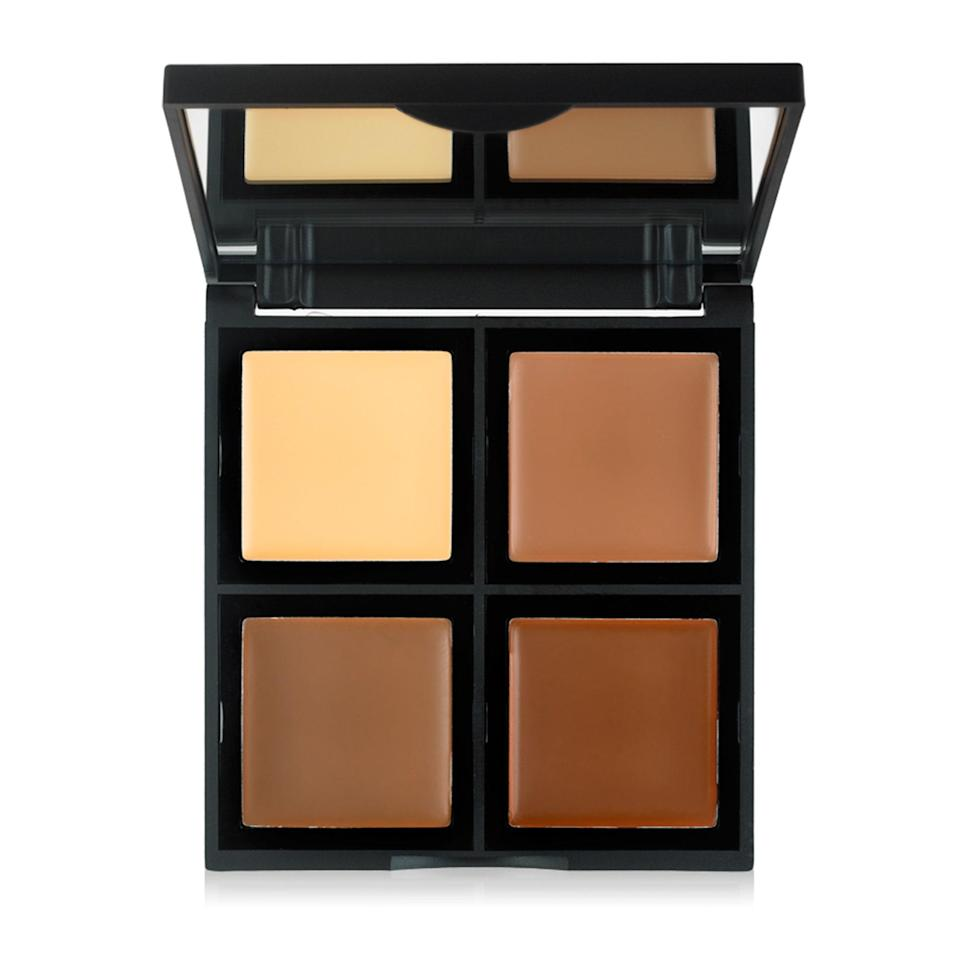"""<p>This <a href=""""https://www.allure.com/review/elf-cream-contour-palette?mbid=synd_yahoo_rss"""" rel=""""nofollow noopener"""" target=""""_blank"""" data-ylk=""""slk:Best of Beauty-winning"""" class=""""link rapid-noclick-resp"""">Best of Beauty-winning</a> palette contains four different matte creams — a trio of bronzes (taupe, fawn, and caramel) and one yellow-beige hue for brightening. Each are rich and intensely pigmented but once blended out, they seamlessly melt into skin for a natural-looking sculpted finish.</p> <p><strong>$8</strong> (<a href=""""https://shop-links.co/1622750579667482571"""" rel=""""nofollow noopener"""" target=""""_blank"""" data-ylk=""""slk:Shop Now"""" class=""""link rapid-noclick-resp"""">Shop Now</a>)</p>"""
