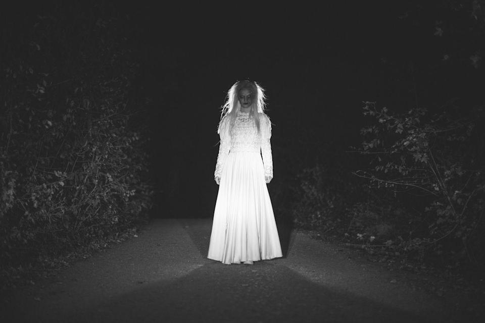 """<p>It seems that every state has a lady in white legend, but the one in Walhalla, North Dakota is perhaps one of the most chilling. The legend goes that the <a href=""""https://www.onlyinyourstate.com/north-dakota/urban-legends-nd/"""" rel=""""nofollow noopener"""" target=""""_blank"""" data-ylk=""""slk:lady in white"""" class=""""link rapid-noclick-resp"""">lady in white</a> was murdered by a man who wanted to marry her. When her family rejected the marriage, he shot and killed the woman out of anger. She is rumored to walk along the road where her life was taken, wearing the white nightgown that she had on at the time of her death.</p>"""
