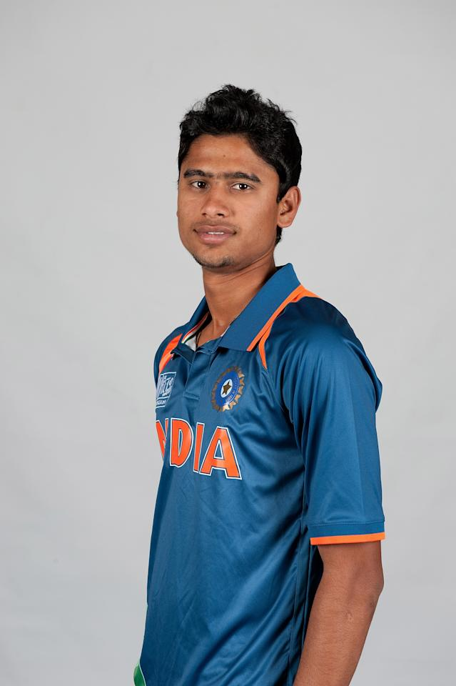 BRISBANE, AUSTRALIA - AUGUST 06:  Ravi Kant Singh of India poses during a ICC U19 Cricket World Cup 2012 portrait session at Allan Border Field on August 6, 2012 in Brisbane, Australia.  (Photo by Matt Roberts-ICC/Getty Images)