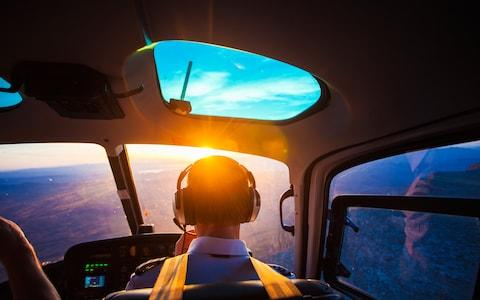 A helicopter pilot - Credit: istock