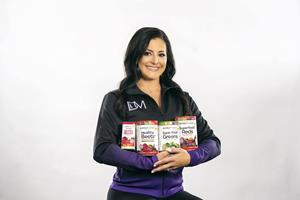 Purely Inspired, a premium brand that focuses on making high-quality, nutritious products for all, has announced a partnership with gold medal-winning gymnast Dominique Moceanu to support the brand's new Superfood product line, exclusively found at Walmart locations. - Photo: Justin Gamble for Purely Inspired®