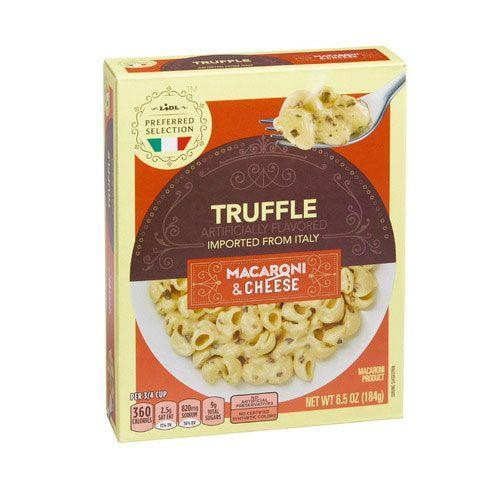 <p>Truffle everything...always! Ditch all other boxed mac & cheese and find your way to the nearest Lidl for this creamy and decadent comfort meal.</p>