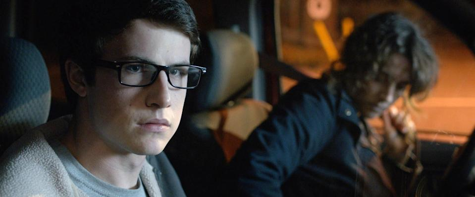 """<p>You can pretty much never go wrong with a horror film that falls into the old """"There's Something Wrong with the House"""" genre. In this movie, a teen (<em>13 Reason Why</em>'s Dylan Minnette) and his mom move into a vacant vacation house after a tragedy. You can guess what happens next! </p> <p><a href=""""https://www.netflix.com/watch/80198661"""" rel=""""nofollow noopener"""" target=""""_blank"""" data-ylk=""""slk:Available on Netflix"""" class=""""link rapid-noclick-resp""""><em>Available on Netflix</em></a></p>"""