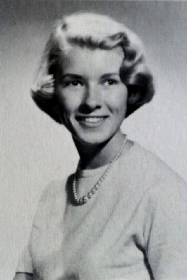 Stewart has always looked elegant and classic, as evidenced by her high school yearbook photo from 1959.