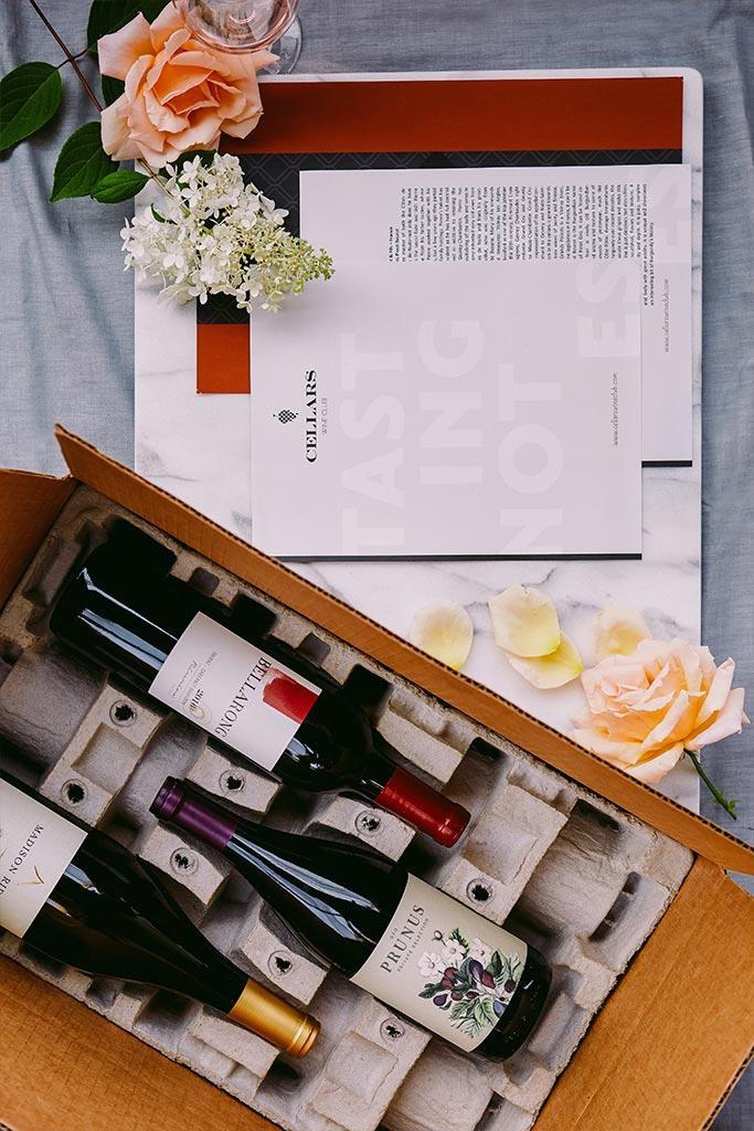 "<h3><strong>Cellars</strong> </h3><br><strong>What You Get</strong><br>Affordable and customizable single-bottle to case club monthly wine shipments vetted by an in-house team of tasters.<br><br><strong>What You Commit To</strong><br>A flexible membership that ships around the 20th of each month with no monthly minimum required.<br><br><strong>What You Pay</strong><br>No upfront membership fee with shipments ranging from $29 to $389 (at $12 per bottle), depending on the club. Shipping costs included.<br><br><em>Visit <strong><a href=""https://www.cellarswineclub.com/"" rel=""nofollow noopener"" target=""_blank"" data-ylk=""slk:Cellars"" class=""link rapid-noclick-resp"">Cellars</a></strong></em>"
