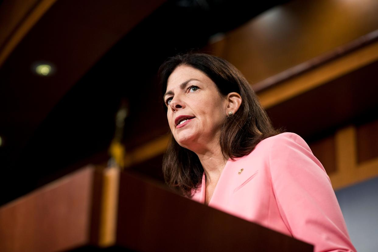 """Ayotte never formally endorsed Trump, but said she was withdrawing her support.<br><br>""""I wanted to be able to support my party's nominee, chosen by the people, because I feel strongly we need a change in direction in our country. However, I'm a mom and an American first, and I cannot and will not support a candidate who brags about degrading and assaulting women. I will not be voting for Donald Trump or Hillary Clinton and instead will be writing in Governor Pence on election day."""""""