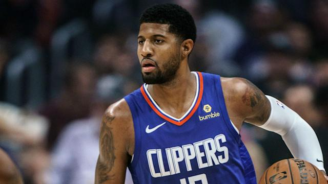 Paul George played his first game for the Clippers in Los Angeles on Saturday and he scored 37 points in just 20 minutes.