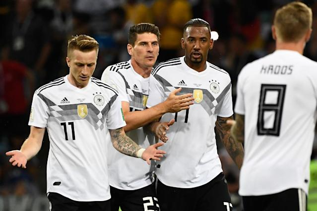 Germany 2 Sweden 1: Toni Kroos rescues World Cup holders with late win
