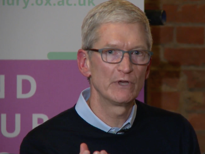 Apple boss says coding more important than English as a second language