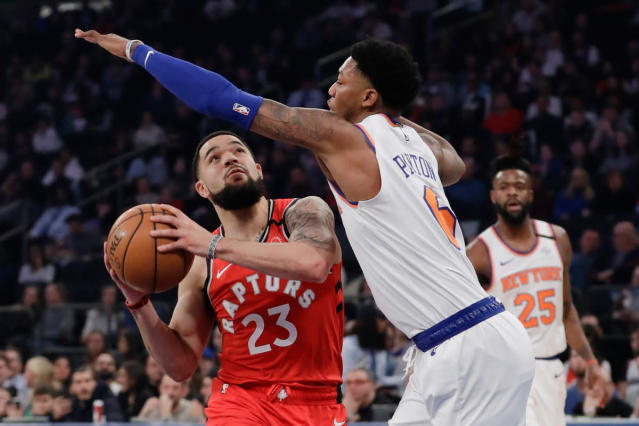 Raptors' Fred VanVleet may be intriguing Knicks option in thin free agent class