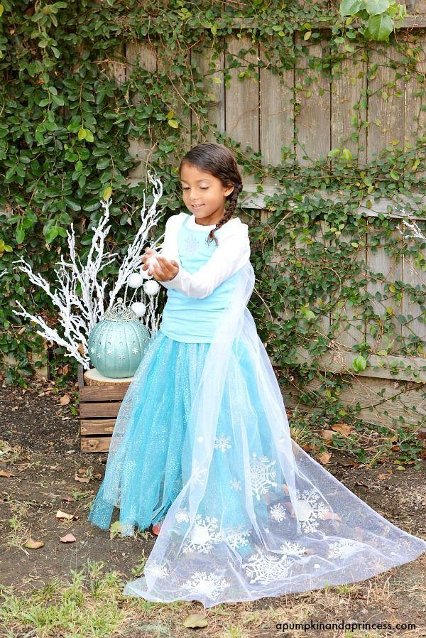 """<p>What little girl wouldn't want to be the heroine from <em><a href=""""https://www.countryliving.com/diy-crafts/g28746444/diy-frozen-costumes/"""" rel=""""nofollow noopener"""" target=""""_blank"""" data-ylk=""""slk:Frozen"""" class=""""link rapid-noclick-resp"""">Frozen</a>, </em>especially with this stunning DIY skirt and snowflake cape?</p><p><strong>Get the tutorial at <a href=""""https://apumpkinandaprincess.com/diy-disney-elsa-costume/"""" rel=""""nofollow noopener"""" target=""""_blank"""" data-ylk=""""slk:a Pumpkin and a Princess"""" class=""""link rapid-noclick-resp"""">a Pumpkin and a Princess</a>.</strong> </p>"""