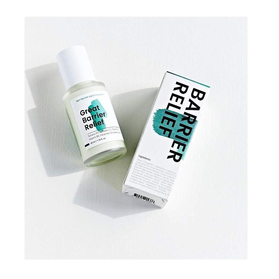"""<p><strong>KRAVE Beauty</strong></p><p>kravebeauty.com</p><p><strong>$44.50</strong></p><p><a href=""""https://kravebeauty.com/products/great-barrier-relief"""" rel=""""nofollow noopener"""" target=""""_blank"""" data-ylk=""""slk:Shop Now"""" class=""""link rapid-noclick-resp"""">Shop Now</a></p><p>A doctor's feet aren't the only things in desperate need of attention at the end of an exhausting shift. All that mask-wearing could leave their skin feeling (and looking) dry and less than amazing. Enter: This soothing facial serum packed with conditioning oils to repair their skin's protective barrier.</p>"""