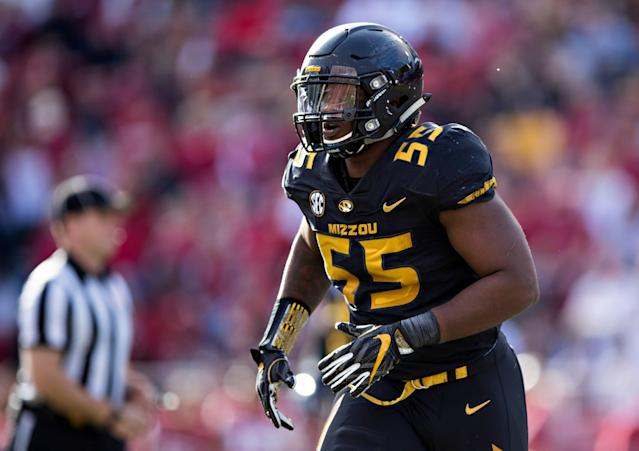 Jordan Harold, a former walk-on at Missouri, is using an interesting tactic to try to achieve his dream of playing in the NFL. (Photo by Wesley Hitt/Getty Images)