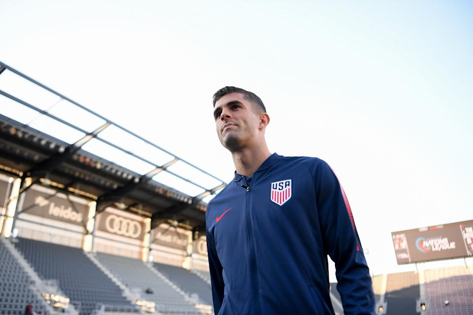 Christian Pulisic can set the World Cup alight in 2022, according to former Australian star Tim Cahill. (Photo by Brad Smith/ISI Photos/Getty Images).
