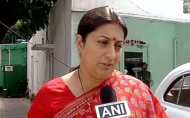 1 of 4 DU students accused of 'stalking' Smriti Irani apologises to the minister