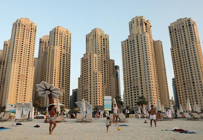 A month-long trip to Dubai, with first class flights, could cost up to £40,000 (REUTERS/Ahmed Jadallah)