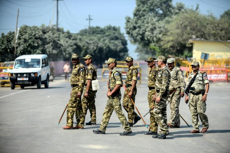 Indian authorities had ramped up security across the country in the run-up to the Ayodhya holy site verdict