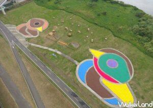 Duck landscape is pictured at the park.(Courtesy of High Riverbank Construction Management Office New Taipei City Government)