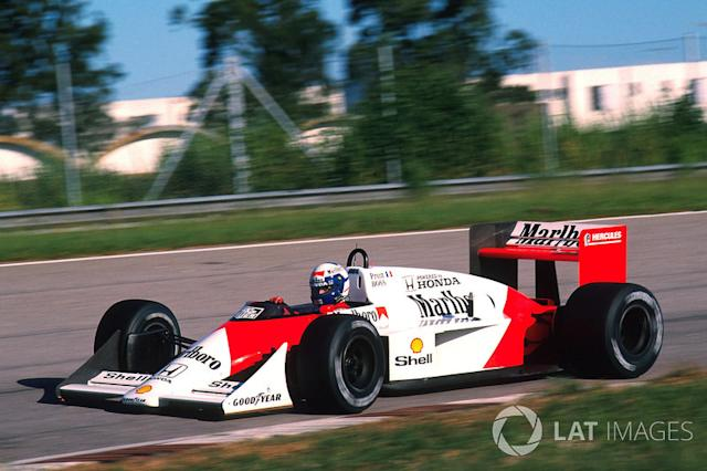 "1988: McLaren-Honda MP4/4 <span class=""copyright"">Sutton Motorsport Images</span>"
