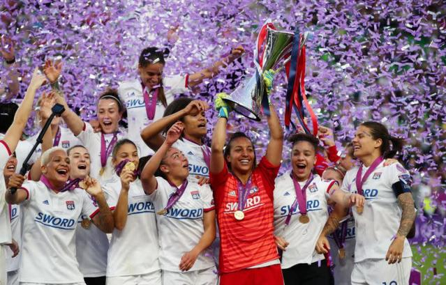 FILE PHOTO: Women's Champions League Final - Olympique Lyonnais v FC Barcelona