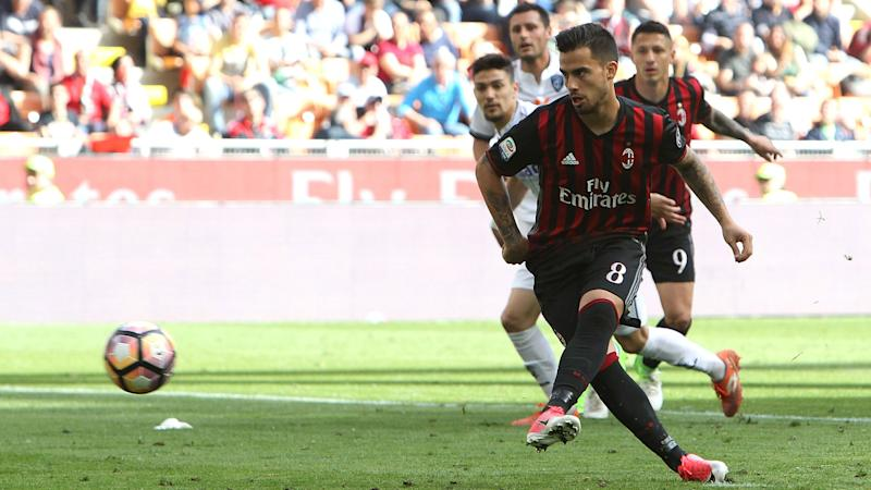 AC Milan 1 Empoli 2: Suso pays the penalty as Rossoneri's European bid takes a hit